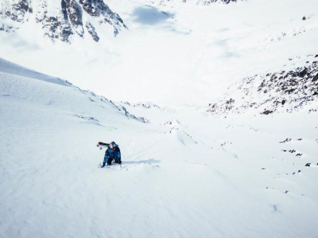 W drodze na szczyt Yawash Sar II (fot. Jakub Gzela / Bartłomiej Pawlikowski)