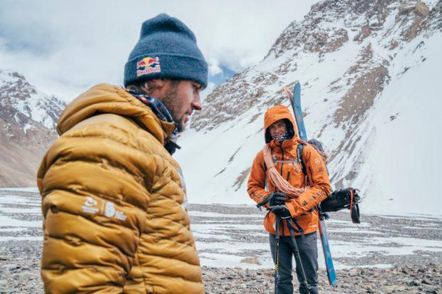 Andrzej Bargiel i Jędrek Baranowski podczas Karakoram Ski Expedition (fot. Bartek Pawlikowski)