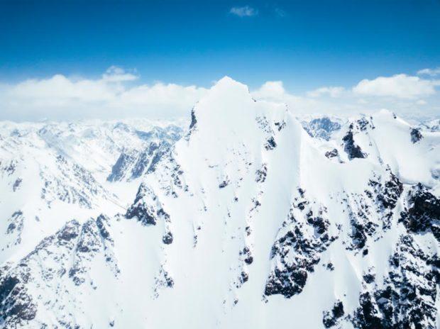 Yawash Sar II (6178 m) w całej okazałości (fot. Jakub Gzela / Bartłomiej Pawlikowski)