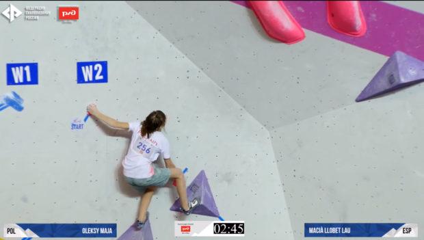 Maja Oleksy ofiarnie walczyła w finałach, niestety nie udało się zaliczyć nawet jednej zony