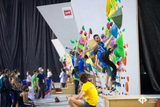 Mistrzostwa Europy w Permie, 2021, w strefie rozgrzewkowej (fot. Leonid Zhukov)