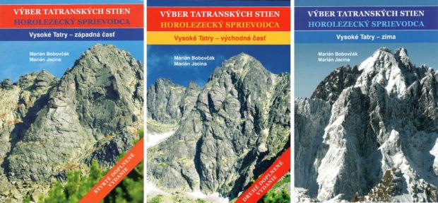 """Vyber Tatranskych Stien"", tomy 1-3"