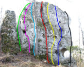 Park Jurajski, ściana Nordwand
