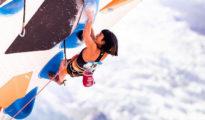 Dawno niewidziana Aashima Shiraishi, zobaczymy ją w finale w Chamonix (fot. Daniel Gajda)