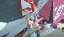 Najlepsza w półfinałach Janja Garnbret, PŚ Villars 2021