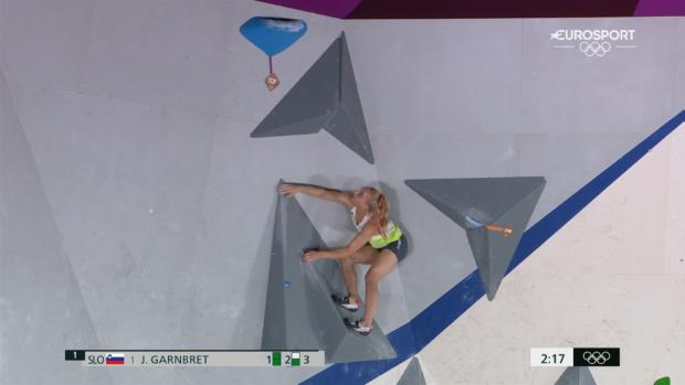 Janja Garnbret wykonała 100%: zwyciężyła w boulderingu i prowadzeniu