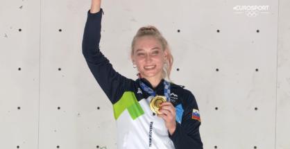 Janja Garnbret mistrzynią olimpijską