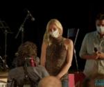 Eliza Kubarska odbiera nagrodę na XXIV Cervino CineMountain