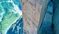 "Wspinanie na ""Histoire sans Fin"" (8b+, 200 m), Petit Clocher du Portalet"