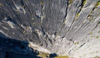 "Wspinaczka na ""Super Canalizos"" (6c+, 475 m), Huanka Punta, Peru"