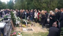 Nad grobem Józefa Nyki (fot. Małgorzata Sołtysiak)