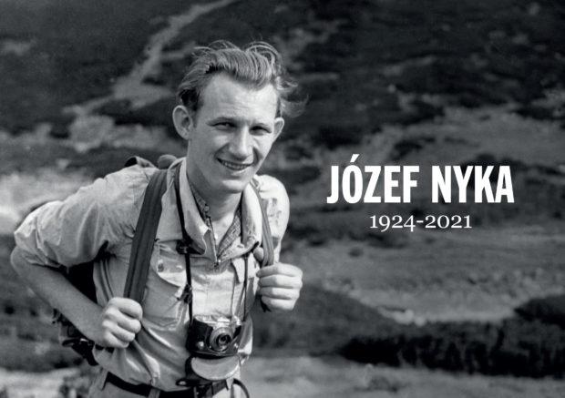 """Józef Nyka 1924-2021"", 2021"