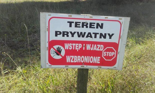 Znacząca część terenów wspinaczkowych w Polsce znajduje się na terenach prywatnych, których właściciele, mimo że nie muszą, udostępniają je wspinaczom (fot. Nasze Skały)