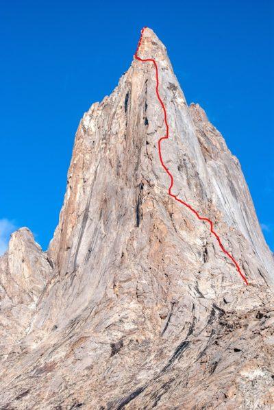 Droga na dziewiczy czterotysięcznik (4818 m)