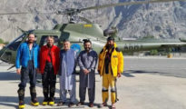 Uratowani wspinacze już bezpieczni w Gilgit