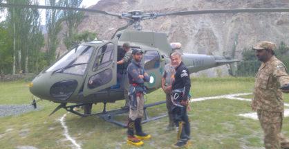 Na pierwszym planie Abdul Joshi i Karim Hayat (fot. Karim Shah Nizari)